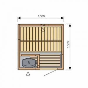 Harvey variant kit sauna