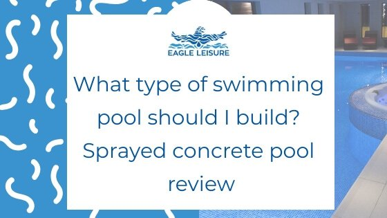 sprayed concrete swimming pool