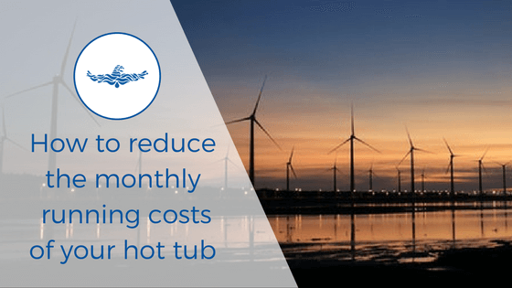 reduce hot tub running costs