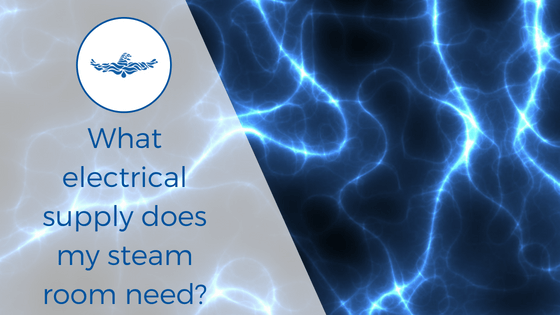 steam room electrical supply