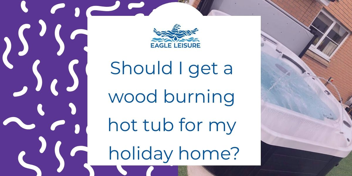 holiday home wood burning hot tub